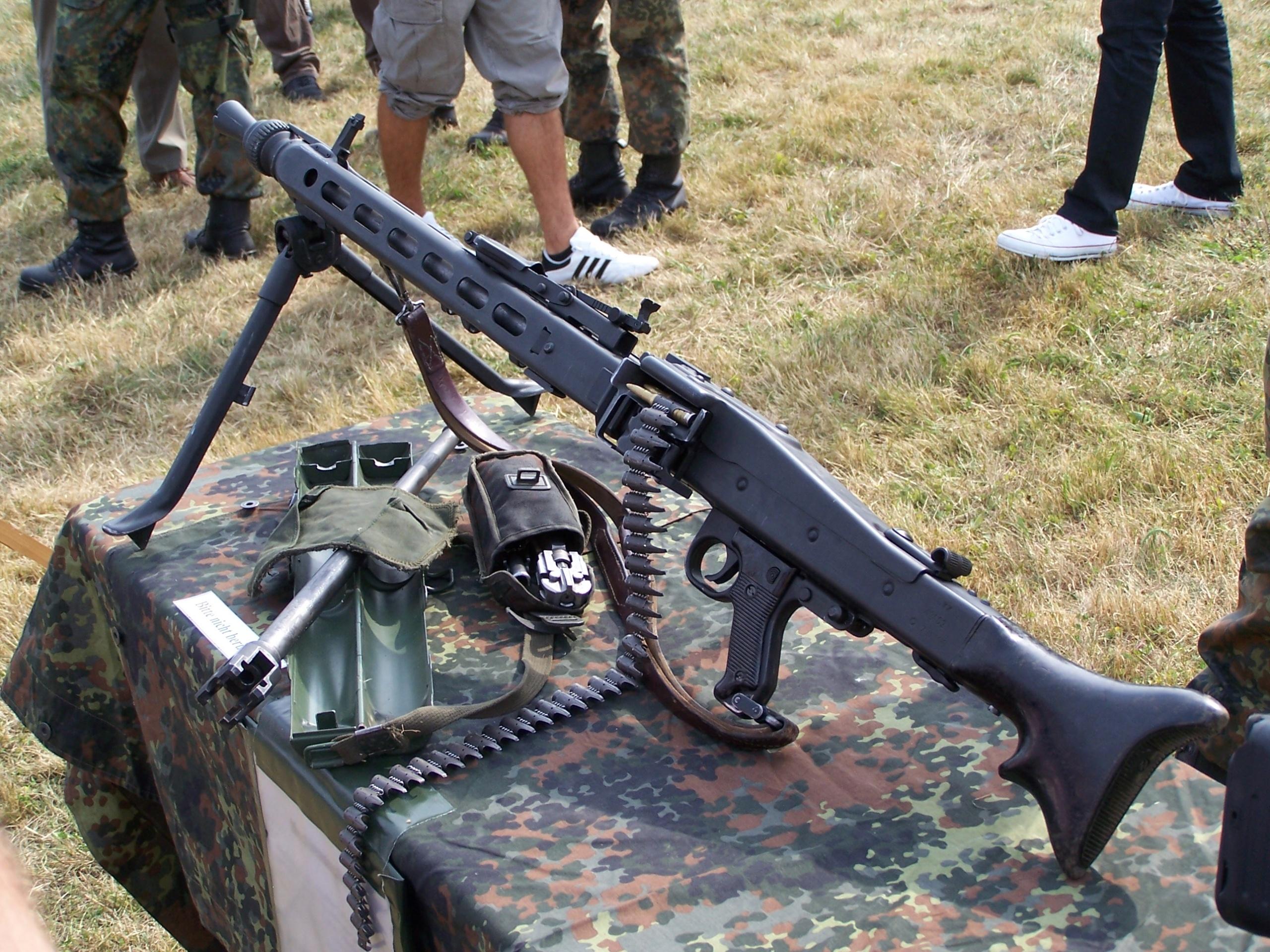 Универсальный пулемет MG 3 (ФРГ)