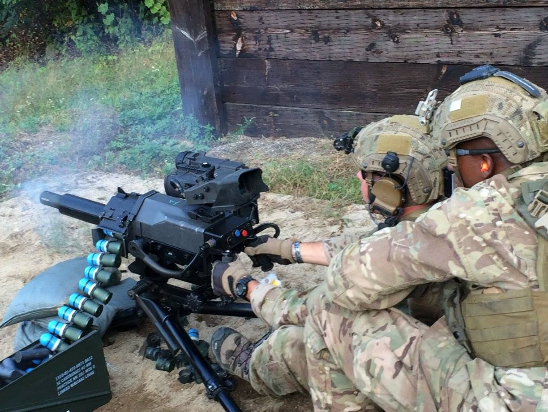 Автоматический гранатомет Mk 47 «Striker» (США)