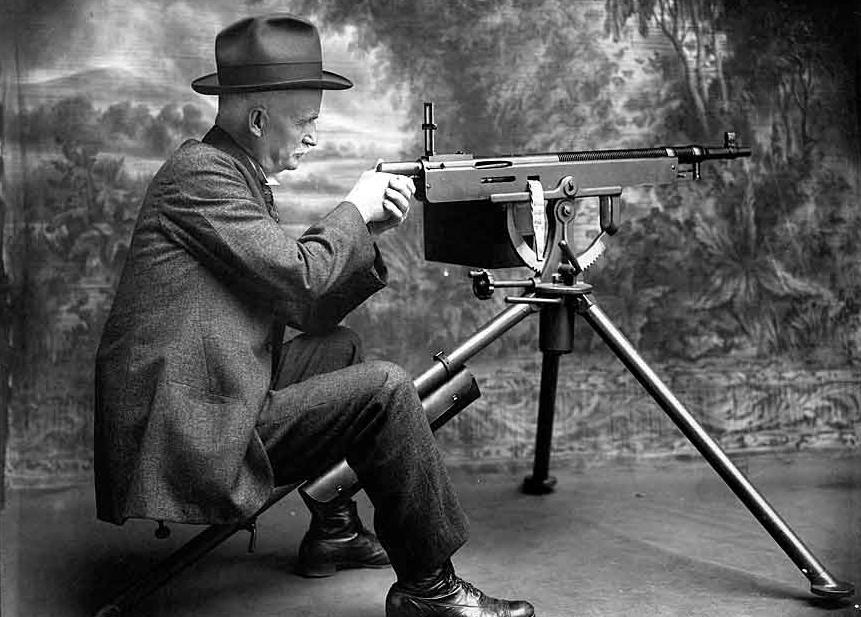 Станковый пулемет «Colt-Browning» обр. 1895 г, (США)