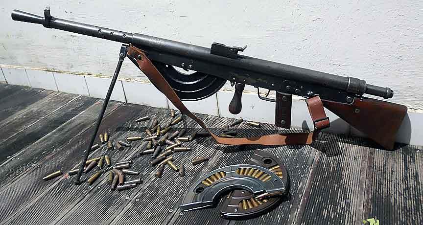 Ручной пулемет «Chauchat» Mle 1915 (Франция)