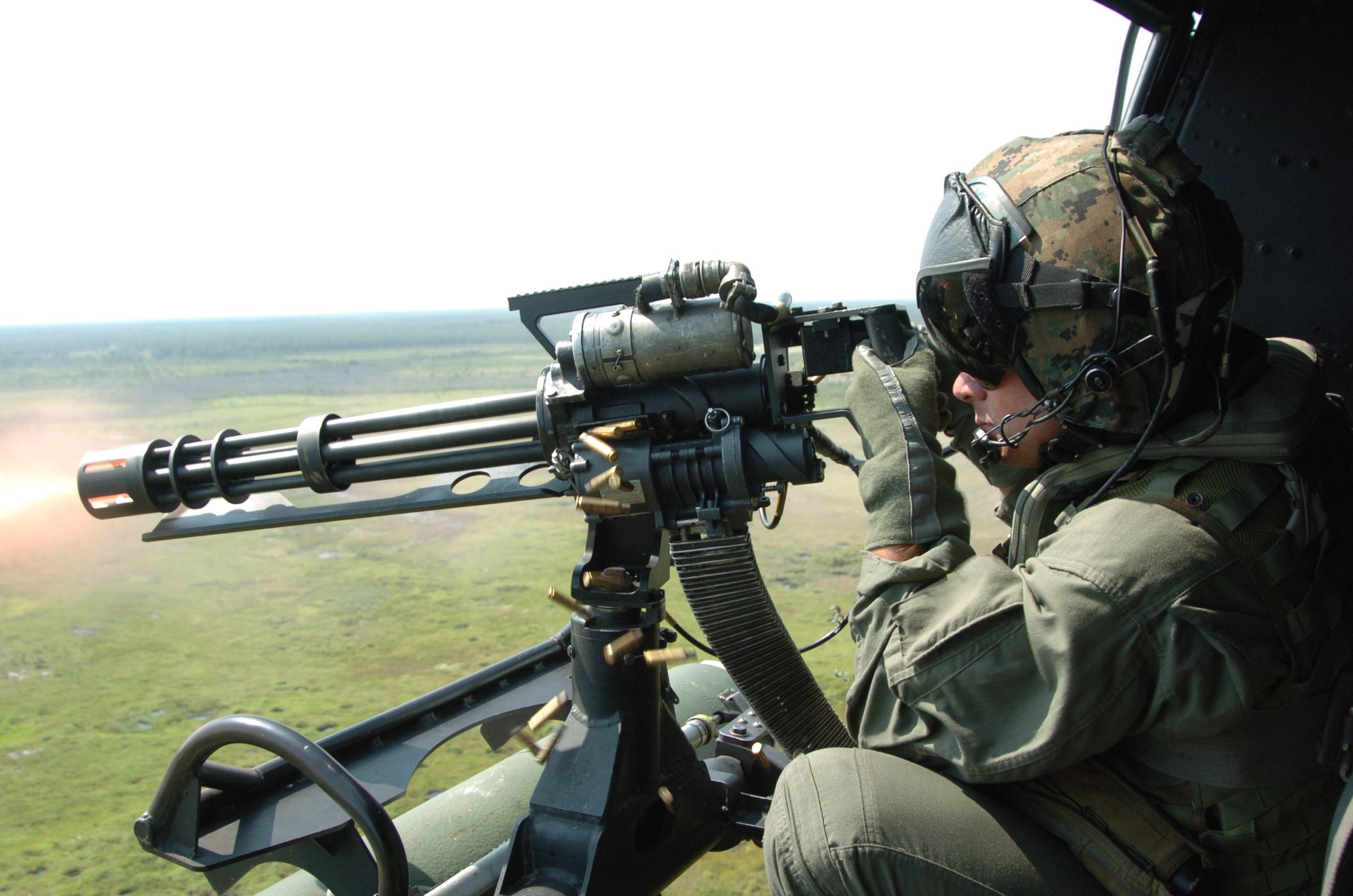 Многоствольный пулемет М 134 «Minigun» (США)
