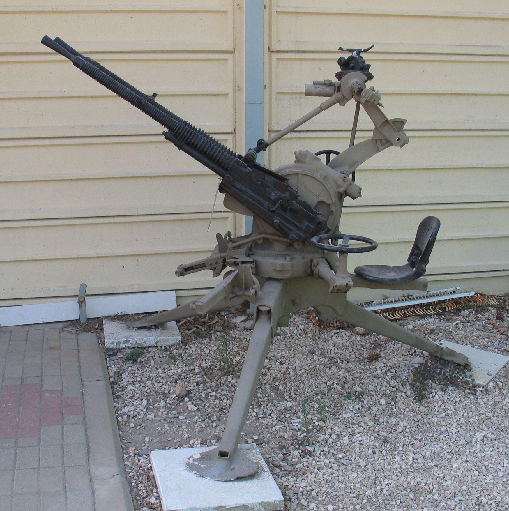 Крупнокалиберный пулемет «Hotchkiss» Mod 1929 (Франция)