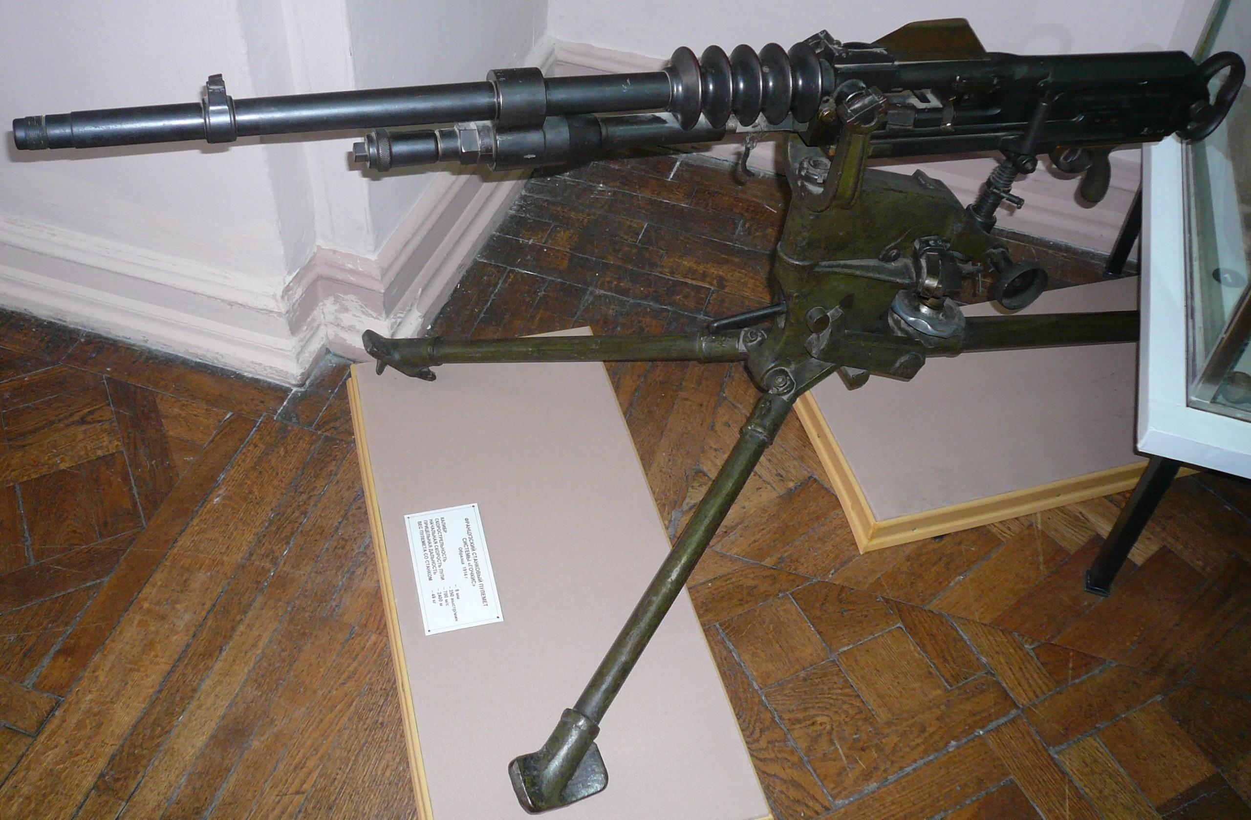 Станковые пулеметы «Hotchkiss» (Франция)