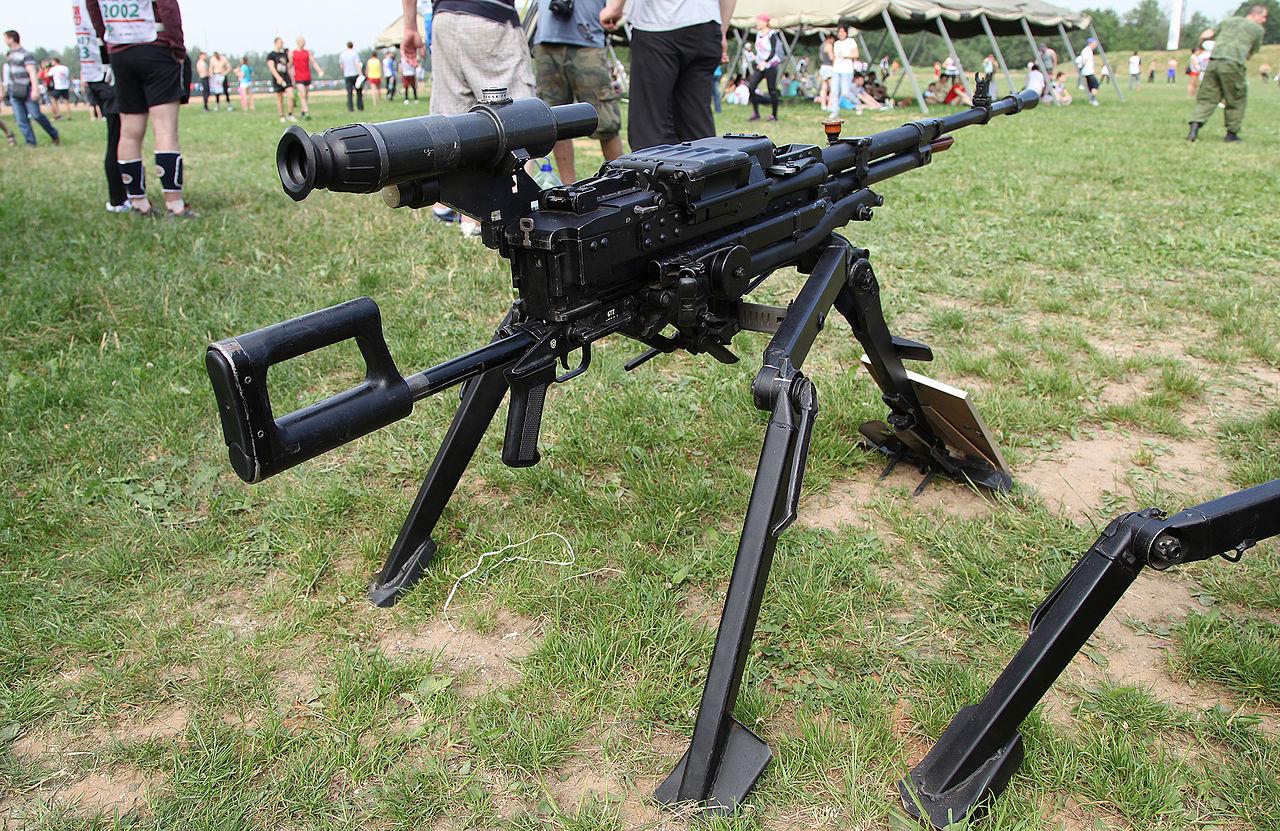 Крупнокалиберный пулемет НСВ «Утес»