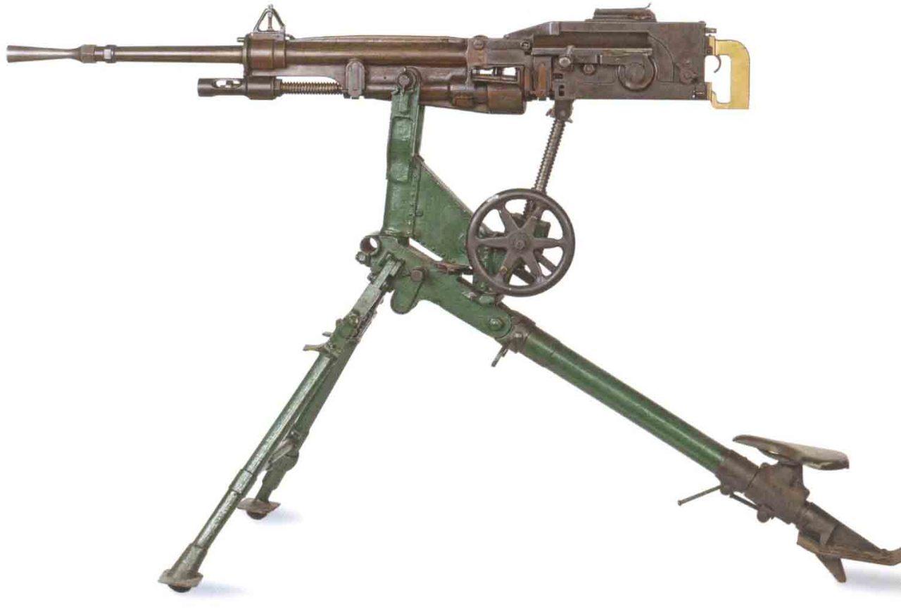 Станковый пулемет «St. Etienne» Mle 1907 (Франция)