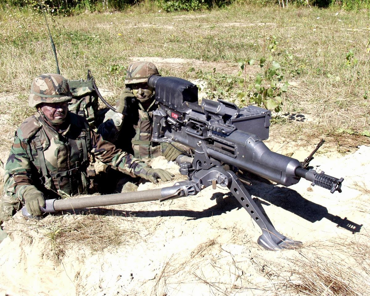Автоматический гранатомет ХМ 307 (США)