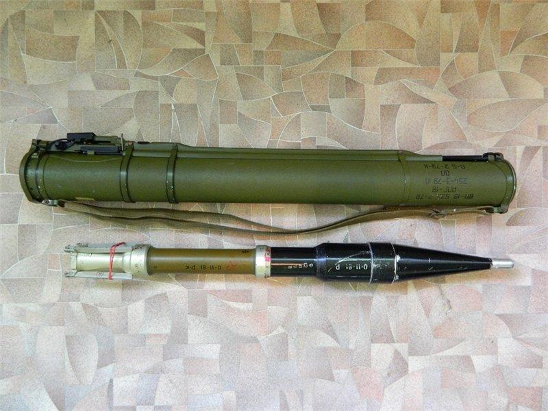 Одноразовые РПГ-18 «Муха», РПГ-22 «Нетто», РПГ-26 «Аглень» и РПГ-27 «Таволга» (СССР-Россия)