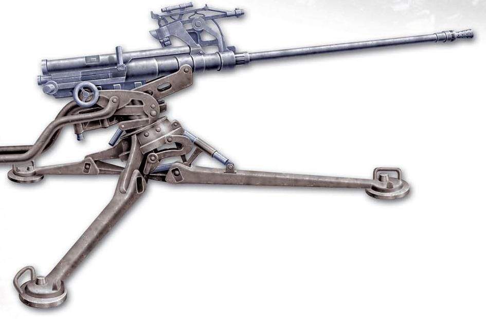 20-мм автоматическая пушка «Solothurn» (Швейцария)