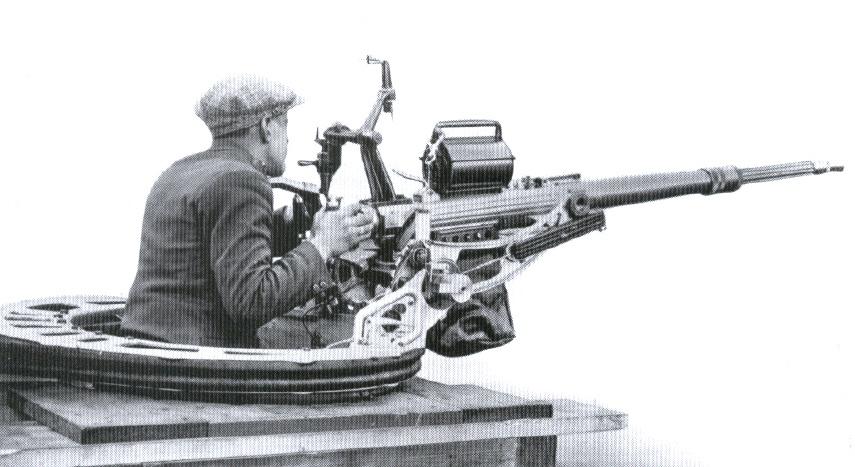 20-мм автоматическая пушка SEMAG (Швейцария)