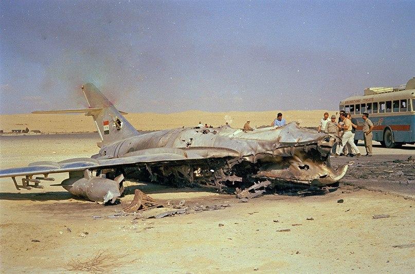 Смертельный удар по арабским ВВС нанесли израильские самолеты, взлетевшие с аэродромов Эфиопии