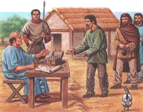 В Византии взимался налог на воздух!