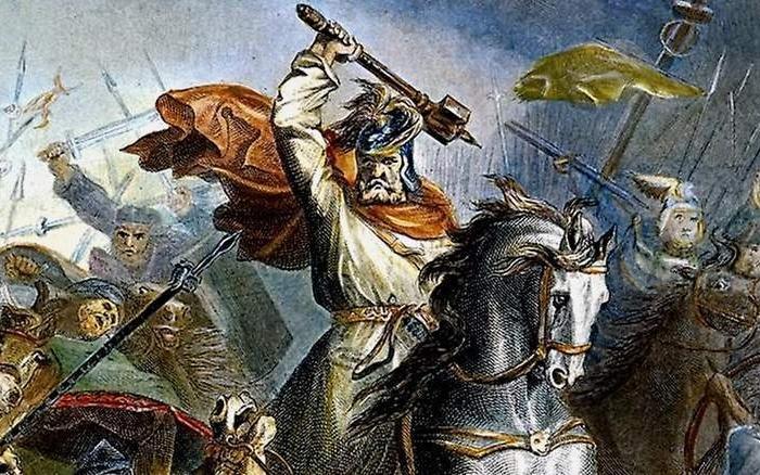 Карл Мартелл остановил натиск арабов на Европу