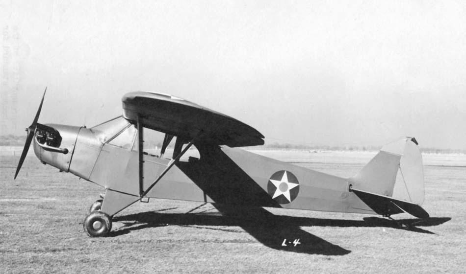 «Пайпер», связной самолет L-4 «Грассхоппер»