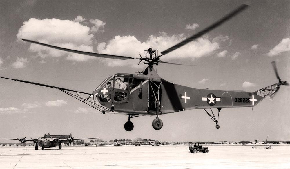 «Сикорский», вертолет R-4/R-6 «Ховерфлай»