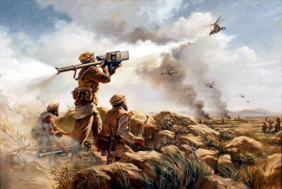 Американцы для противодействия в Афгане советской авиации покупали у поляков ПЗРК «Стрела-2»
