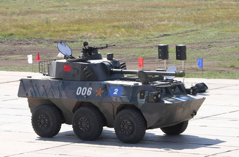 Самоходные 120-мм комбинированные орудия и минометы (Китай)