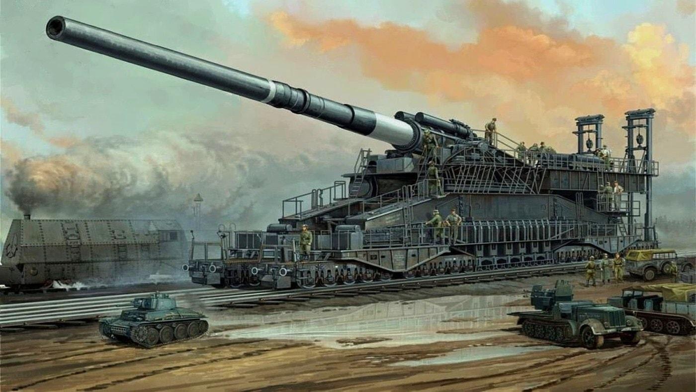 Пушка «Дора» - последний довод Гитлера