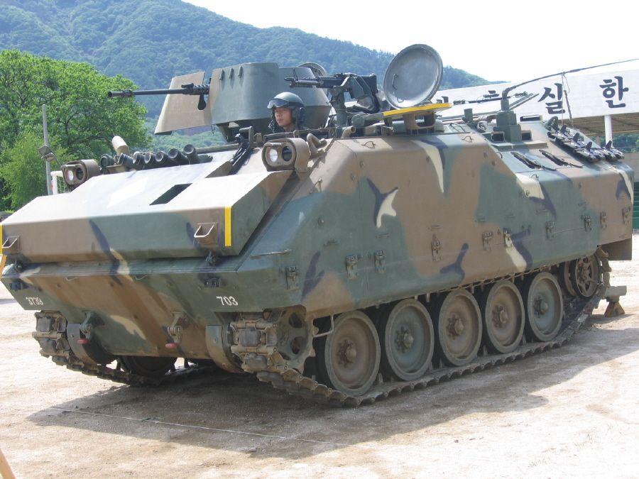 Самоходный 120-мм миномет (Южная Корея)