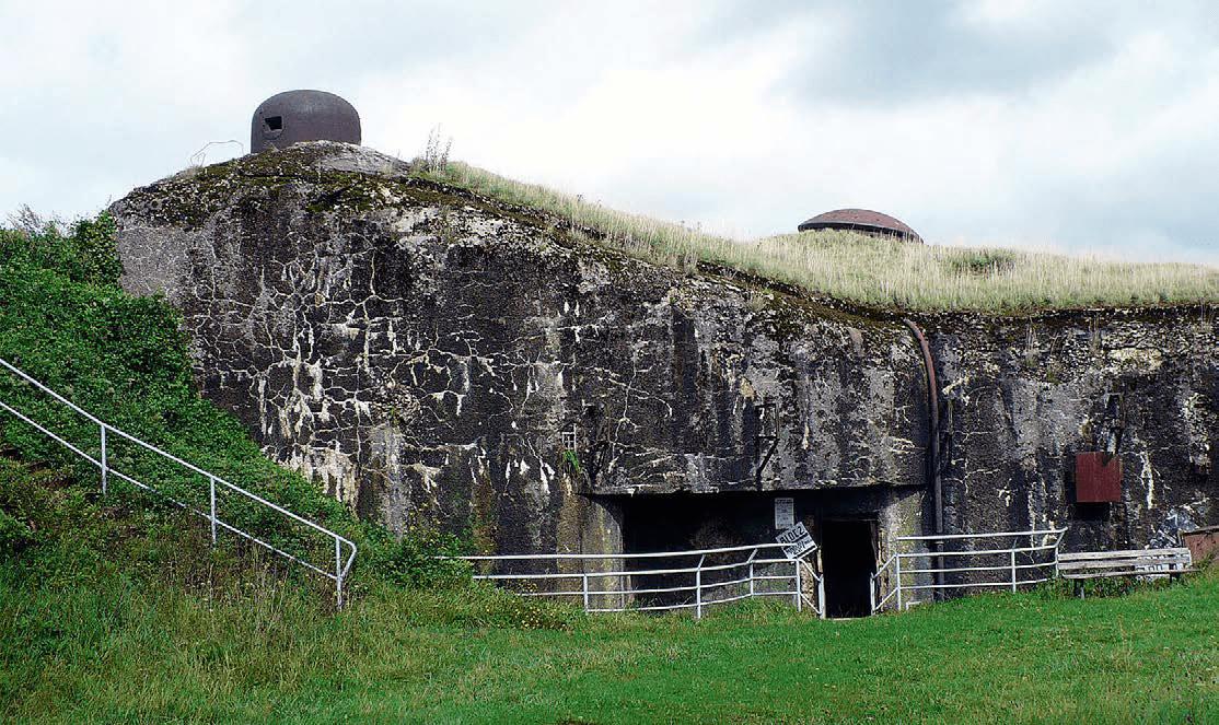 «Новые рубежи»: оборонительные сооружения на границе с Бельгией