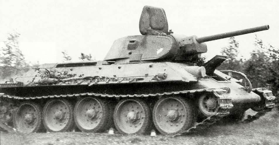 Т-34 в боях на литовской земле