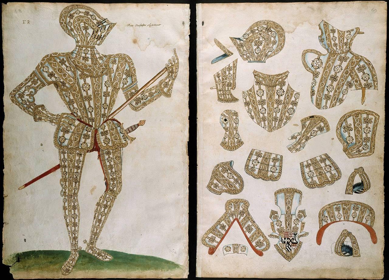 Альбом «Альмайн» стал первым модным журналом для рыцарей