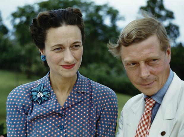 Король Великобритании Эдуард VIII - дружил с Гитлером и любил американку