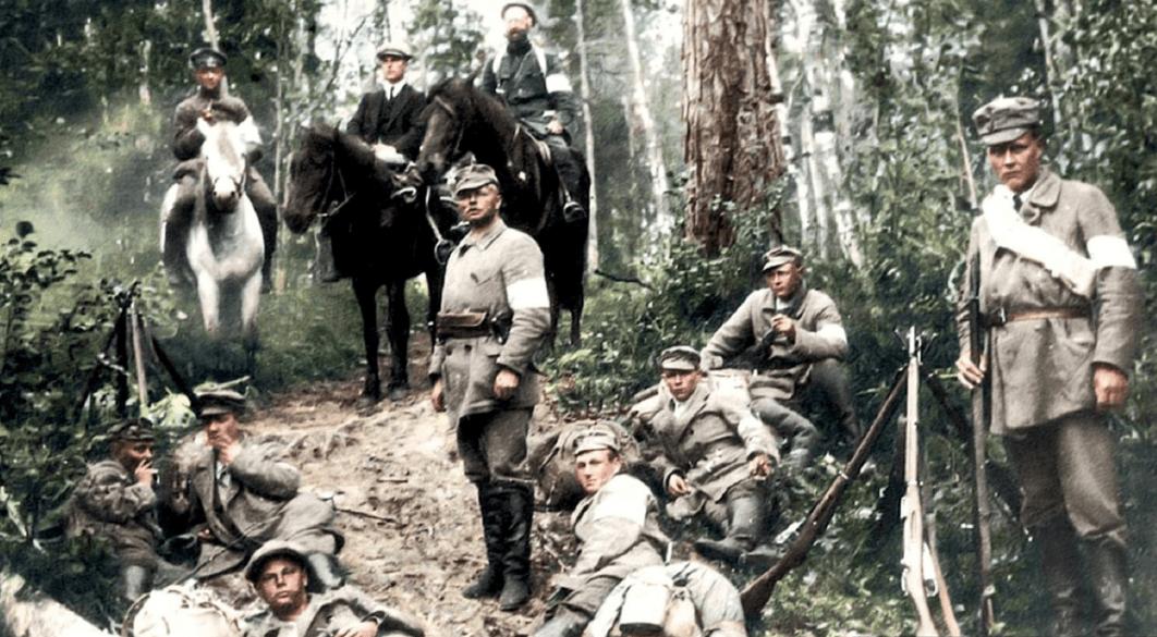 Как интервенты и большевики объединились против белофиннов