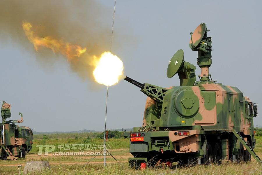 Зенитная артиллерийская система «Люйдун 2000» (LD-2000)
