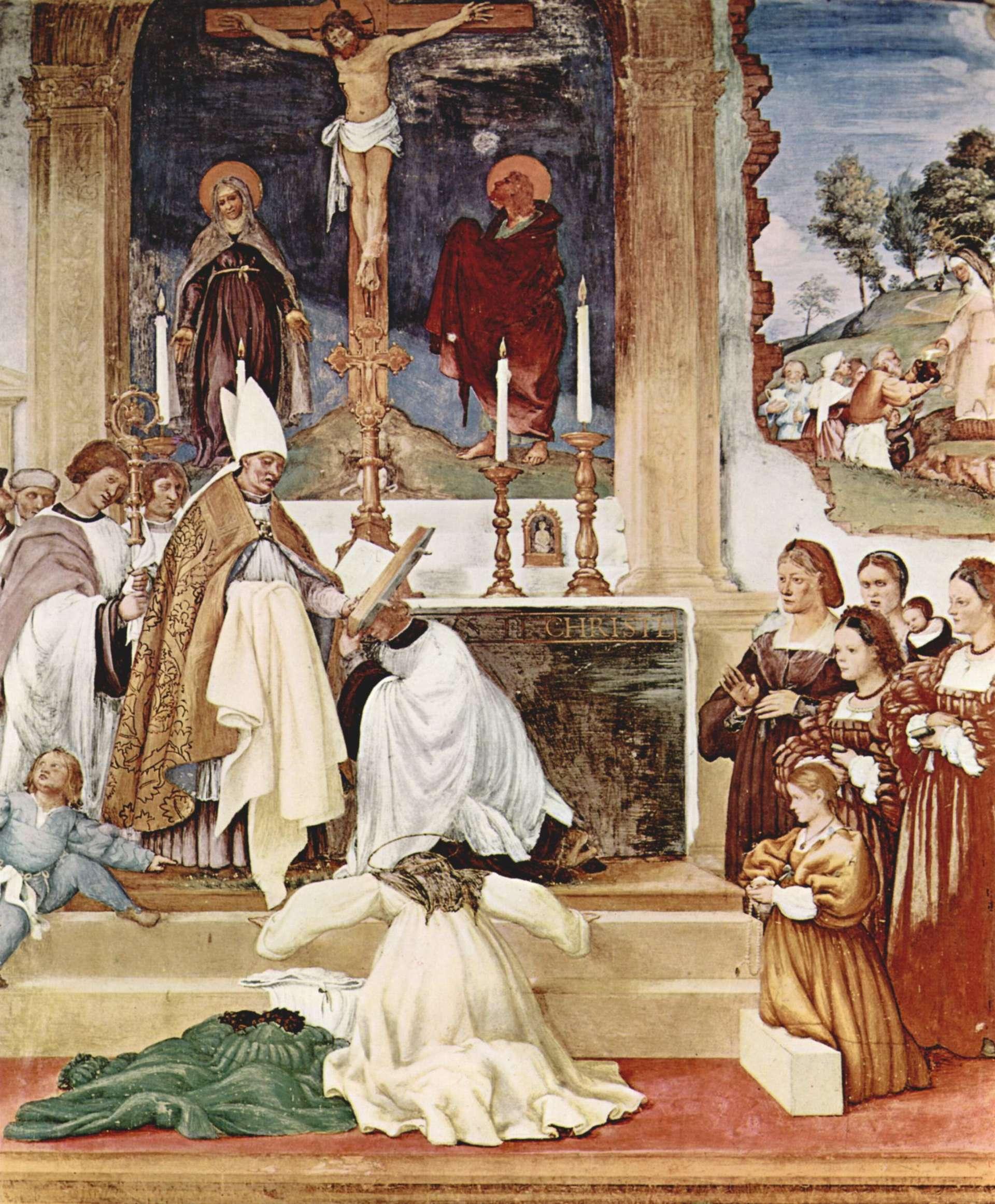 Торговля индульгенциями привела к расколу католической церкви