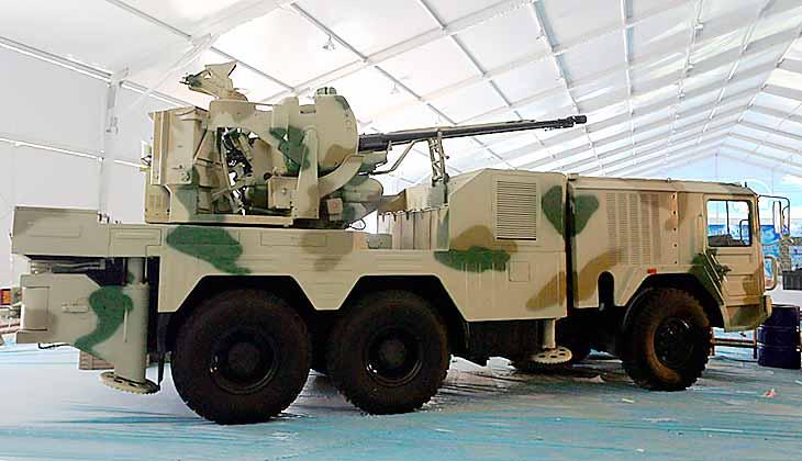 Зенитная артиллерийская система CS/SA1