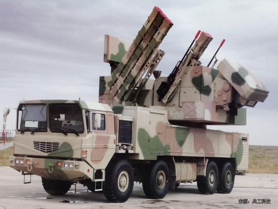 Комбинированная система ПВО малой дальности FK-1000 (Китай)