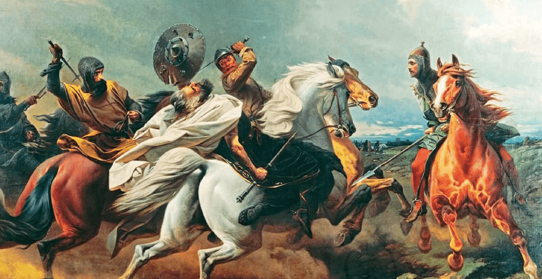 Европейские Рюриковичи - язычники рерики пали под ударами захватчиков-христиан