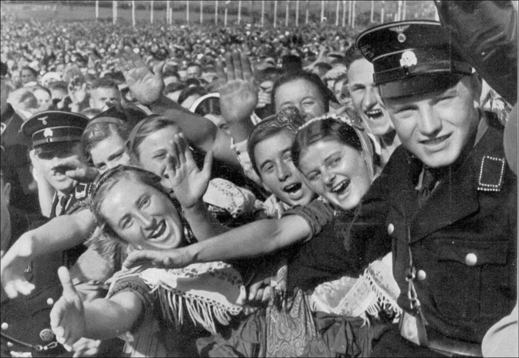 Фашизм скрывается в толпе