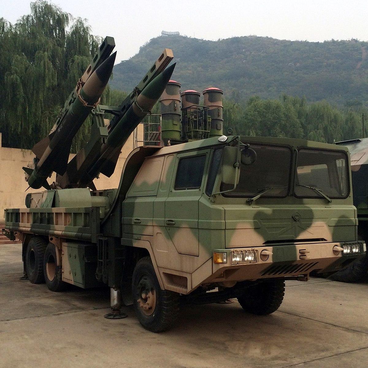 ЗРК средней дальности «Хун Ци-12» (HQ-12)