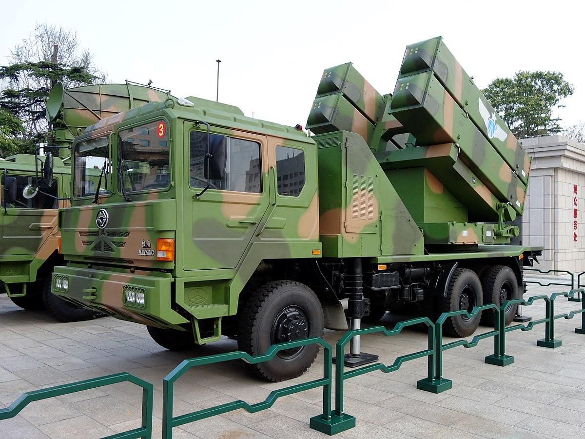 ЗРК малой дальности «Хун Ци-64» (HQ-64)/«Хун Ци-6A» (HQ-6A)