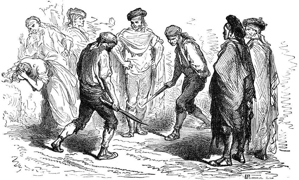 Ножевой бой «сникерсни» - спасение для простолюдинов