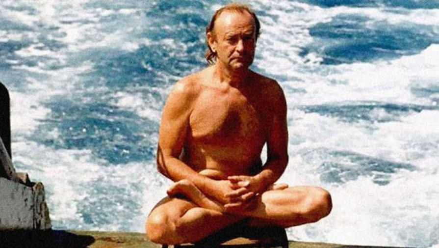 Станислав Курилов - один в океане