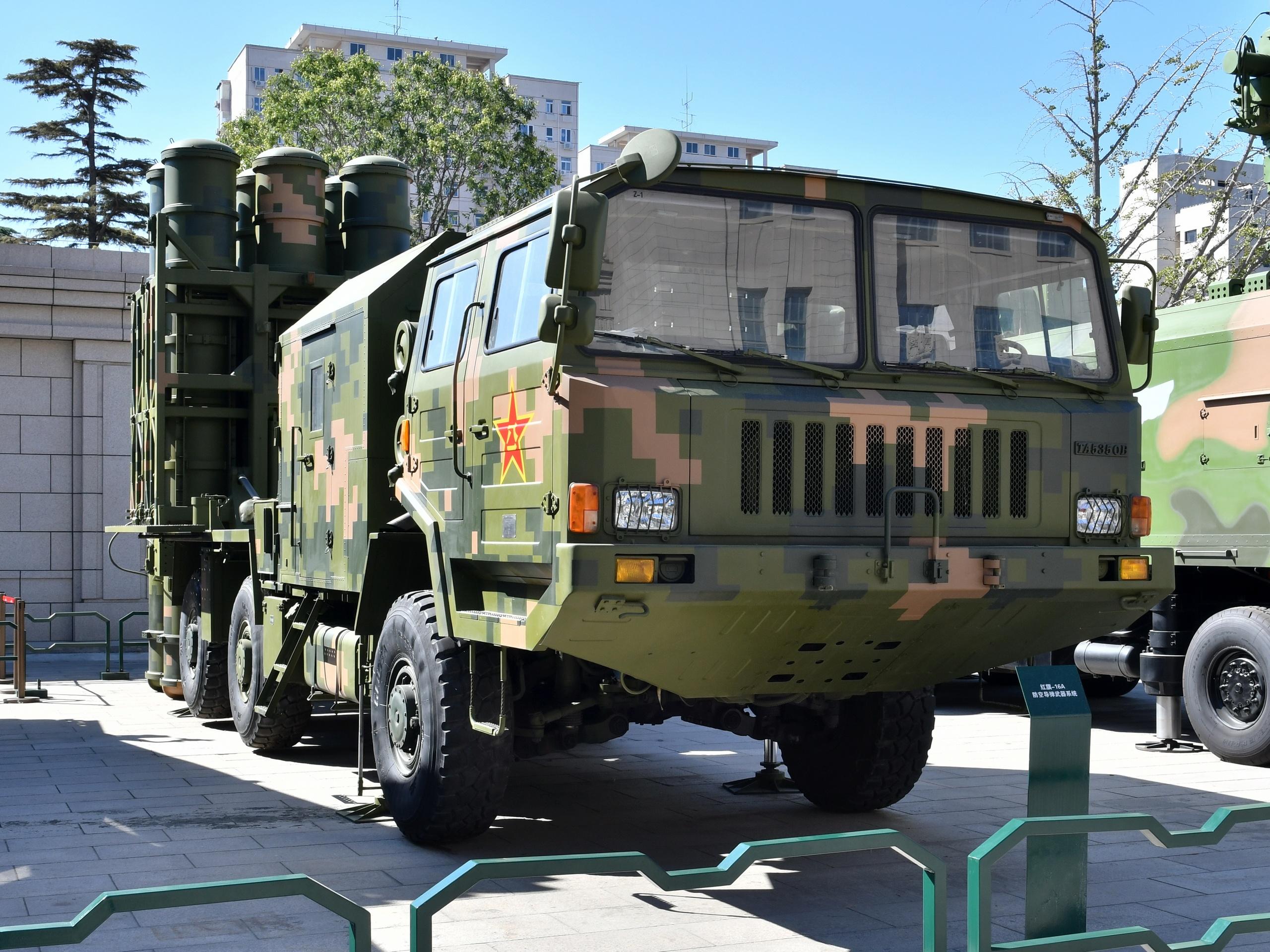 ЗРК средней дальности «Хун Ци-16А» (HQ-16A)