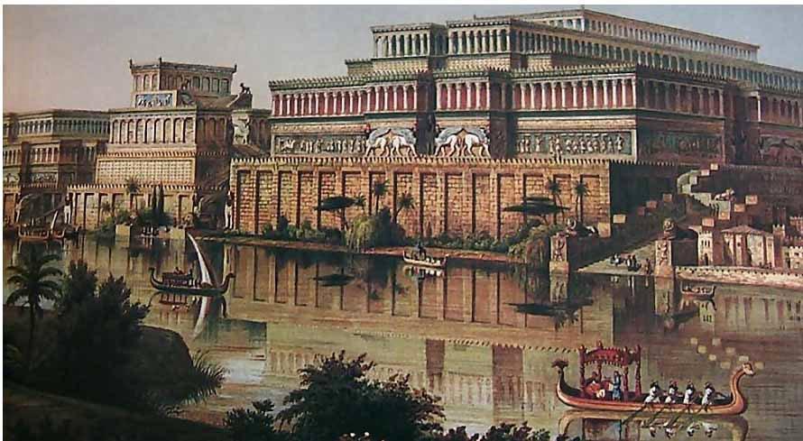Древняя Ассирия в течение тысячелетий не знала себе равных