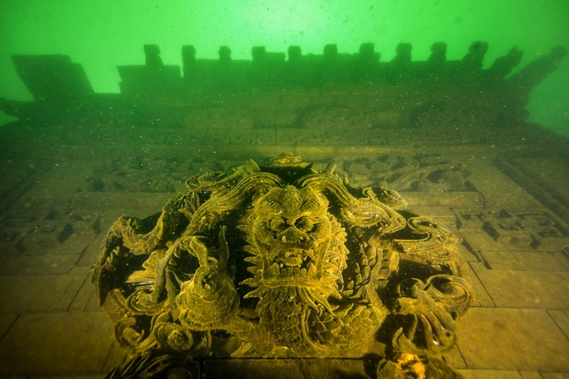 Город на дне - Древний Шичен сохранился благодаря затоплению