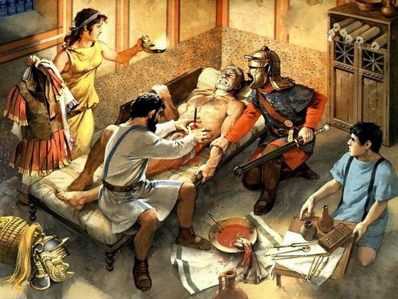 Римская медицина - как жители империи блюли свое здоровье