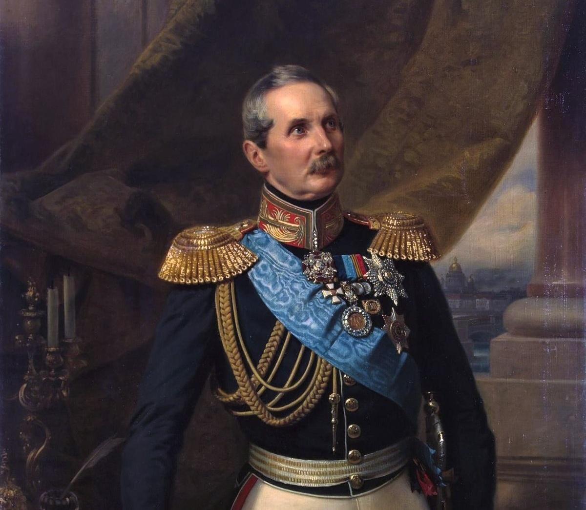 Казнокрад Клейнмихель - граф экономил на ремонте Зимнего дворца