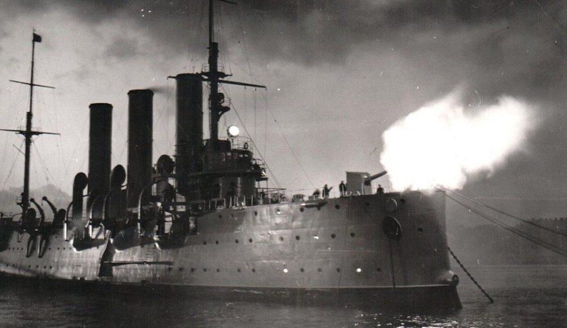 Революционный тихоход. Крейсер «Аврора» мог называться «Полканом»
