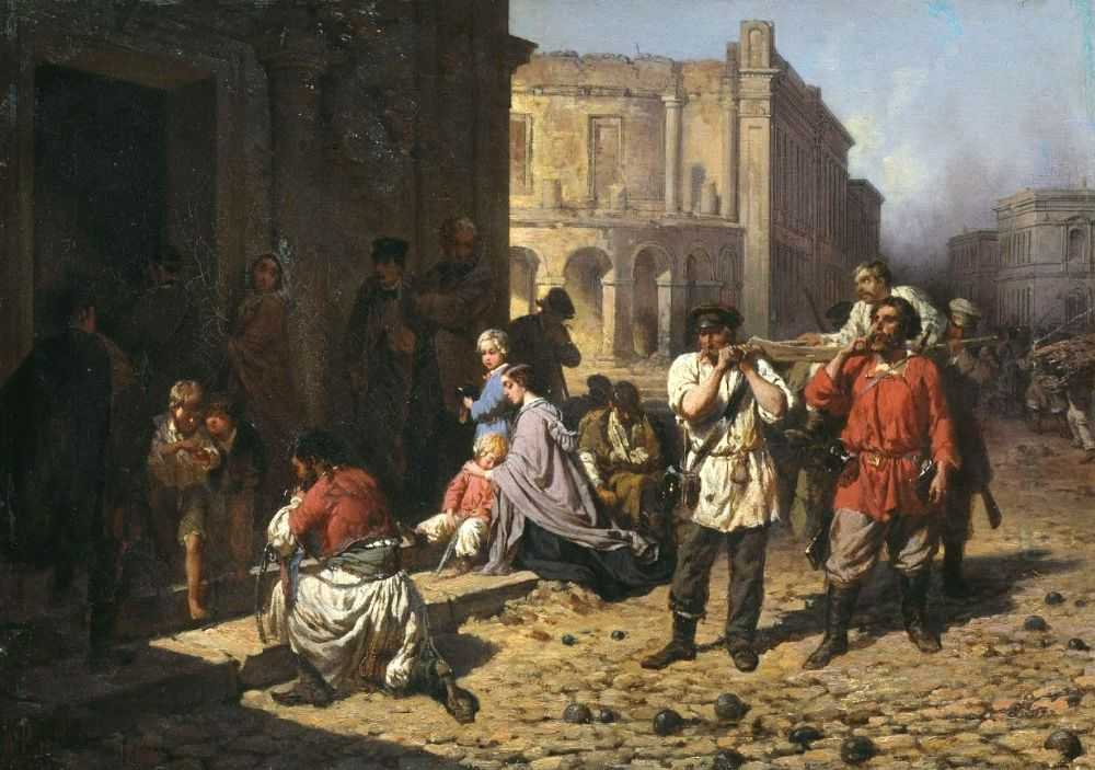 Бунт в Севастополе. В 1830 году карантин довел людей до отчаяния