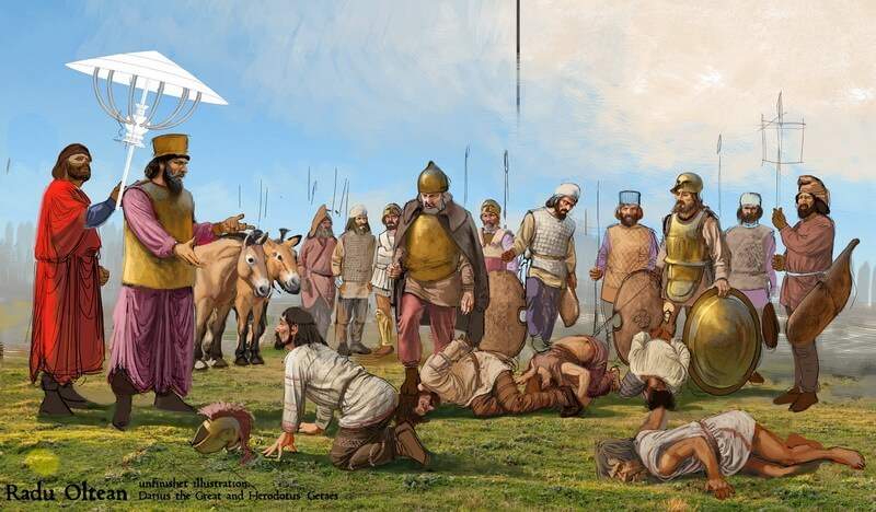 Бесстрашные фракийцы - воинам Ареса не было равных в бою