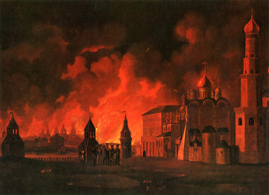 Кто был виновником пожара Москвы в 1812 году