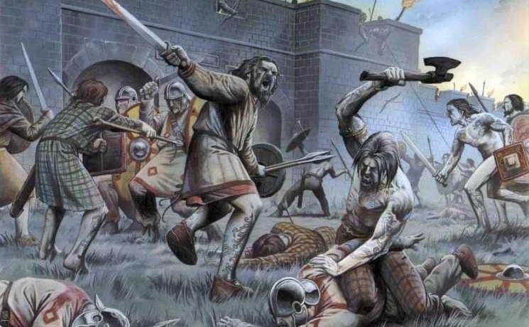 Пикты не позволили римлянам уничтожить свое государство