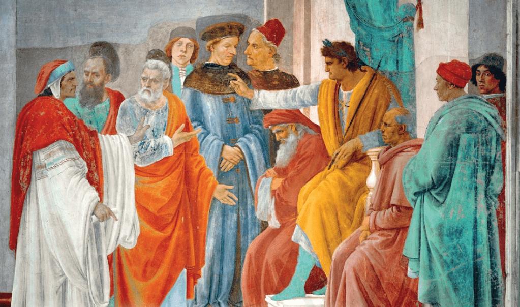 Колдун Симон хотел купить «дар Божий» у апостола Петра