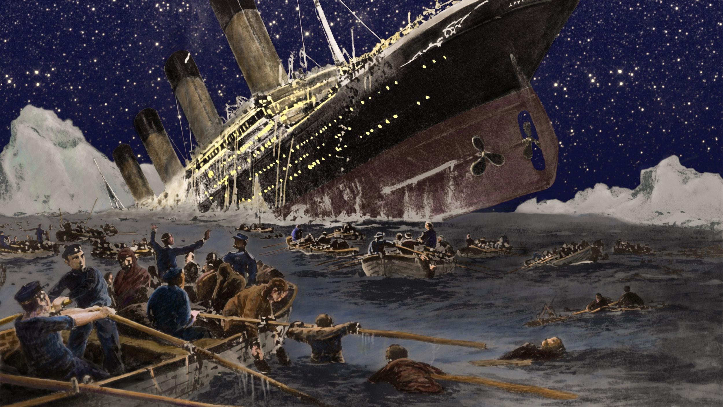 Были ли русские на «Титанике» во время кораблекрушения