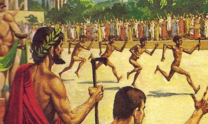 Подкуп, жульничество и допинг Олимпийских играх в Древней Греции